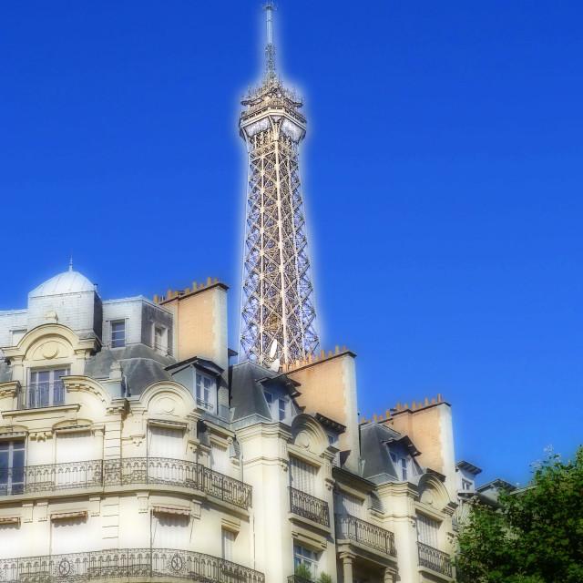 """Eiffel Tower Paris"" stock image"