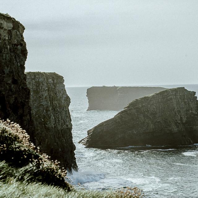"""Kilkee Cliffs"" stock image"