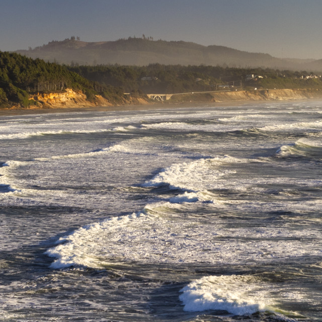 """""""Waves on the pacific"""" stock image"""