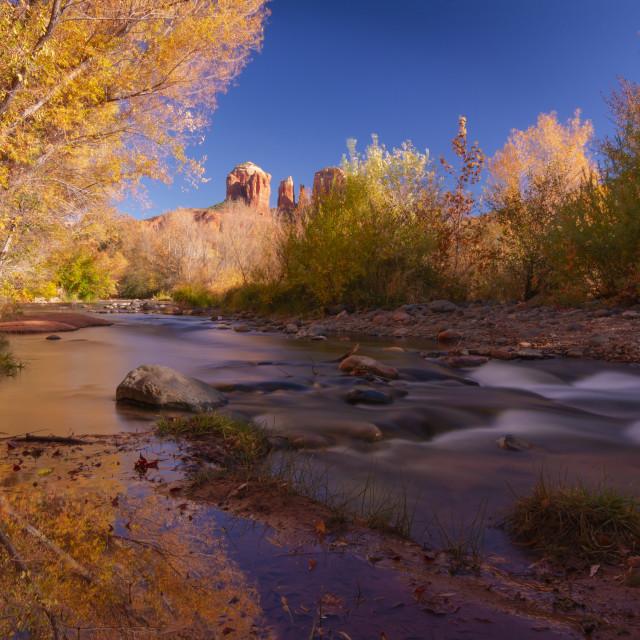 """Autumn colors in Sedona"" stock image"