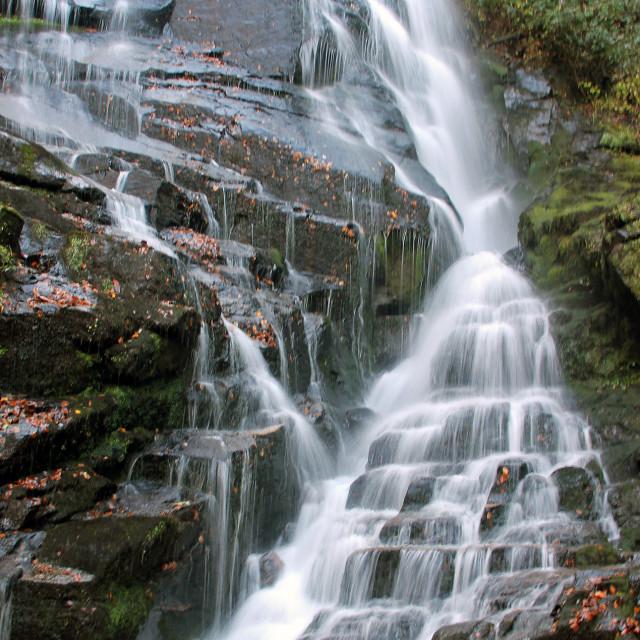 """Eastatoe Falls"" stock image"
