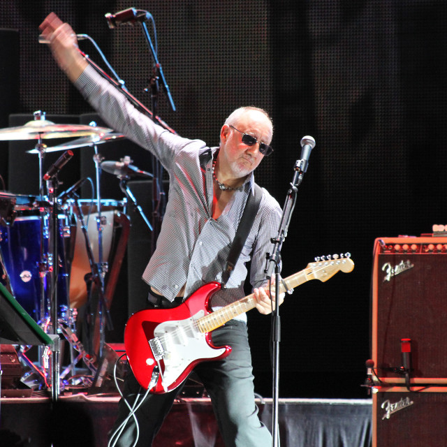 """""""Pete Townshend"""" stock image"""
