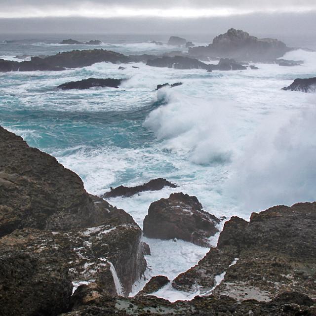 """""""Crashing waves 2"""" stock image"""