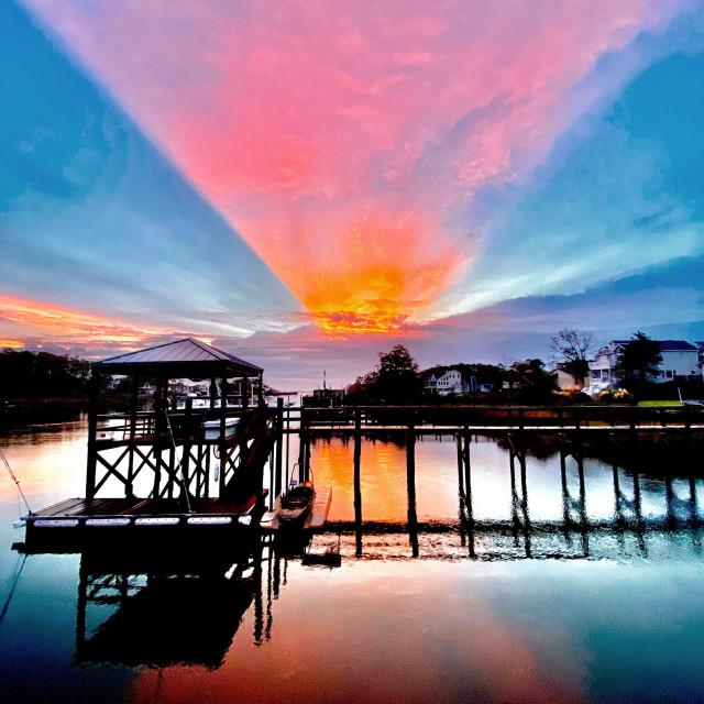 """""""Bacon sunrise"""" stock image"""