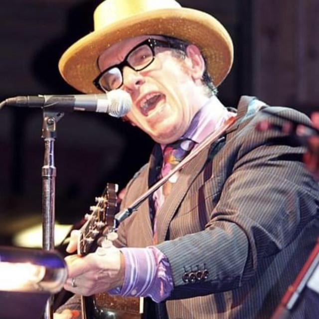 """""""Elvis Costello"""" stock image"""