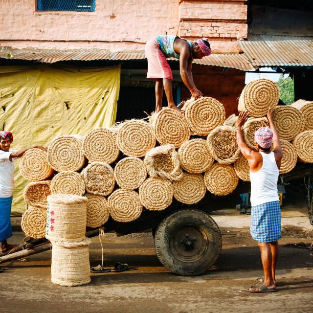 """""""Street Photograpy in Kolkata"""" stock image"""