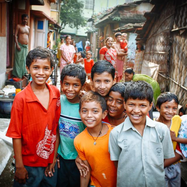 """""""Street Photography Kolkata, former Calcutta"""" stock image"""