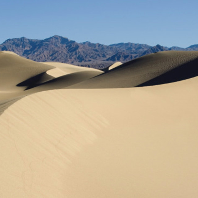"""""""Swirl, sand dune"""" stock image"""