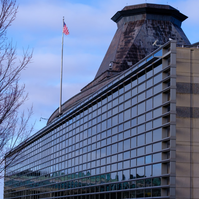 """United States embassy in Ottawa, Canada"" stock image"