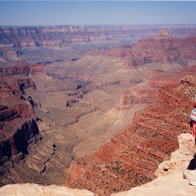 """""""Me at the Grand Canyon"""" stock image"""