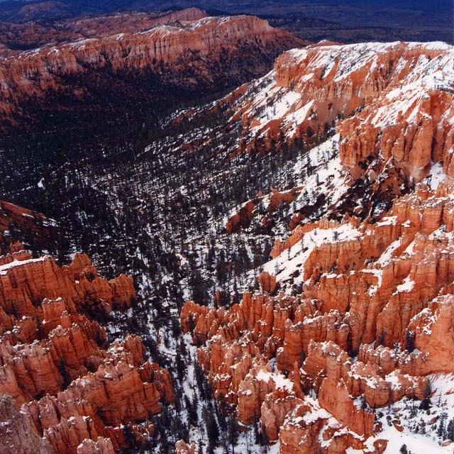 """Bryce Canyon rim"" stock image"
