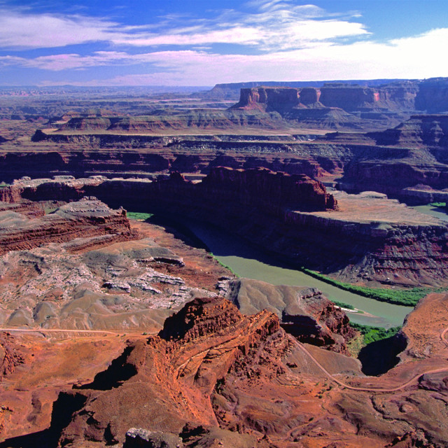"""""""Dead horse point"""" stock image"""