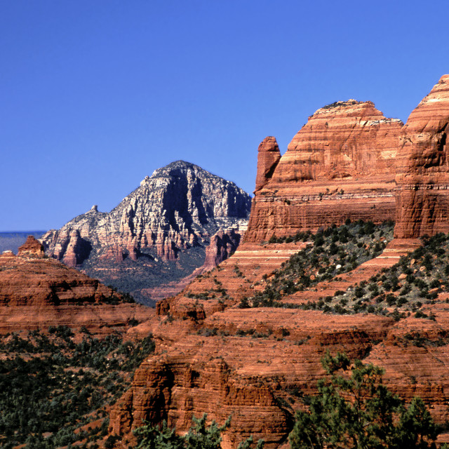 """""""Red rock canyon"""" stock image"""