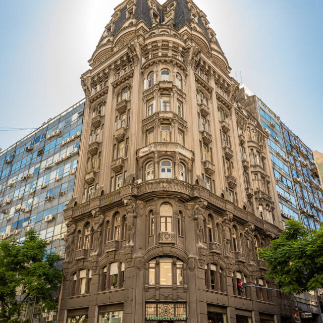 """Architecture in Buenos Aires, Argentina"" stock image"