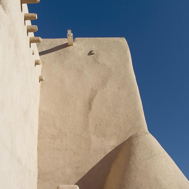 """""""Rancho de Taos Church"""" stock image"""