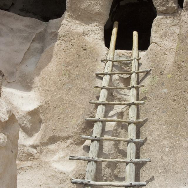 """Ladder, bandalier"" stock image"