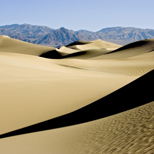 """""""Sand dunes Death Valley2"""" stock image"""