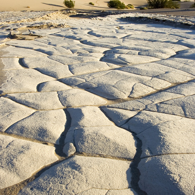 """""""Rock and sand dune"""" stock image"""