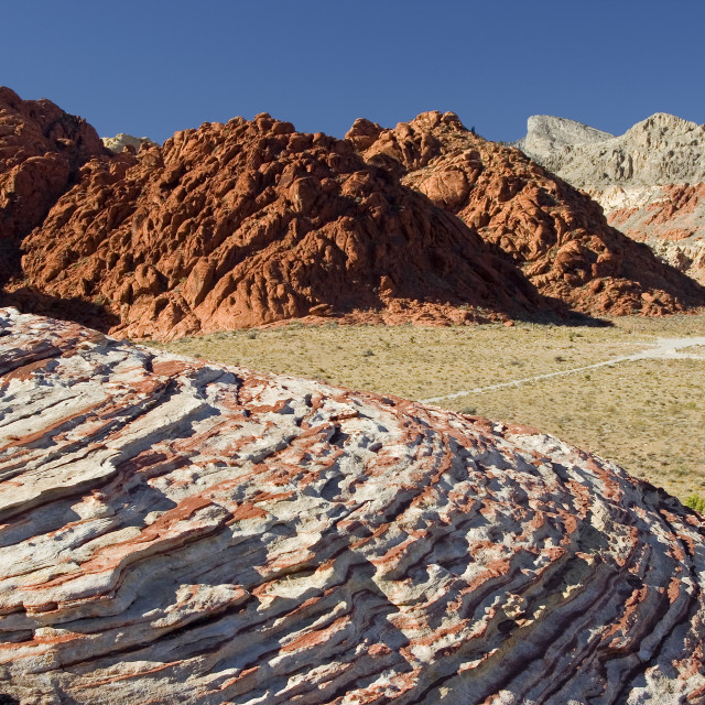 """""""Valley of fire state park 3"""" stock image"""