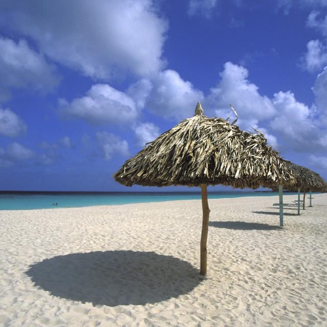"""""""Eagle Beach"""" stock image"""