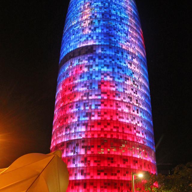 """Agbar, Barcelona"" stock image"