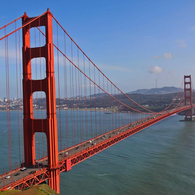 """Golden Gate Bridge,San Francisco"" stock image"