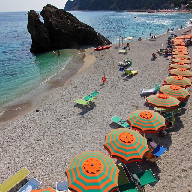 """""""Monterosso Al Mare"""" stock image"""