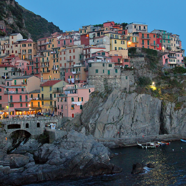 """""""Manarola, Cinque Terre"""" stock image"""