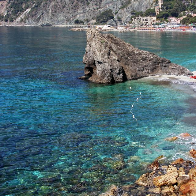"""""""Monterrosso al Mare"""" stock image"""