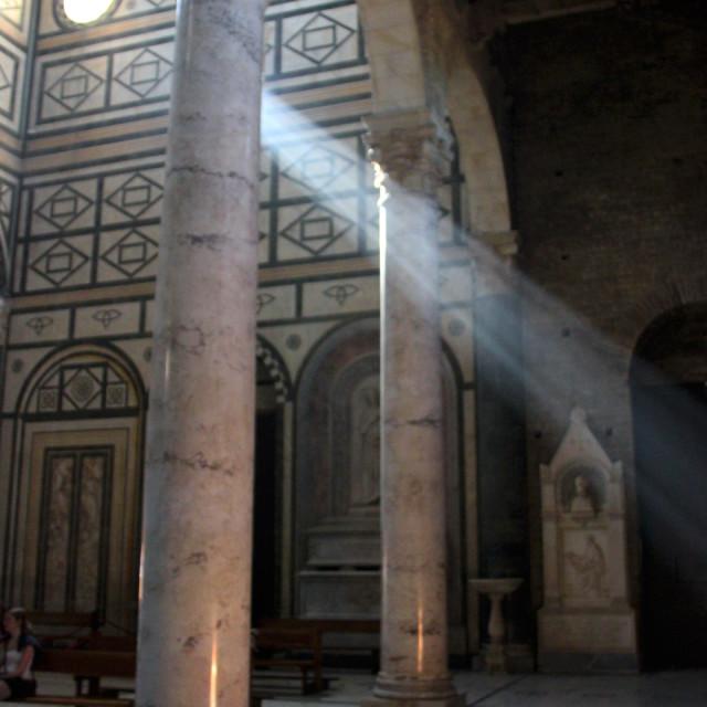 """San miniato El Monte,Florence"" stock image"
