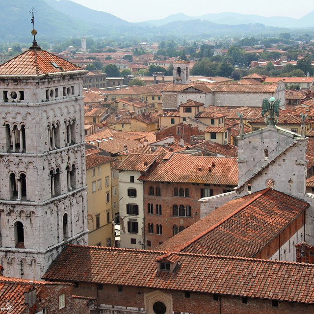"""""""Lucca, Italy"""" stock image"""