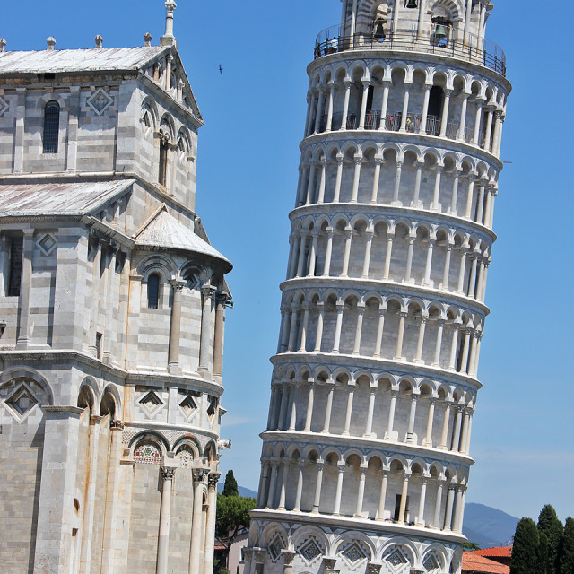 """""""Leaning Tower of Pisa"""" stock image"""