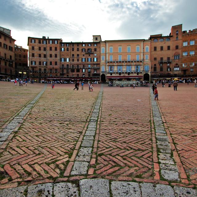 """""""Siena, Italy, Tuscany"""" stock image"""
