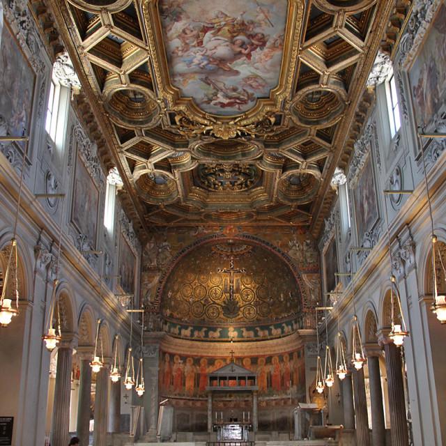 """Basilica San Clemente, Rome"" stock image"