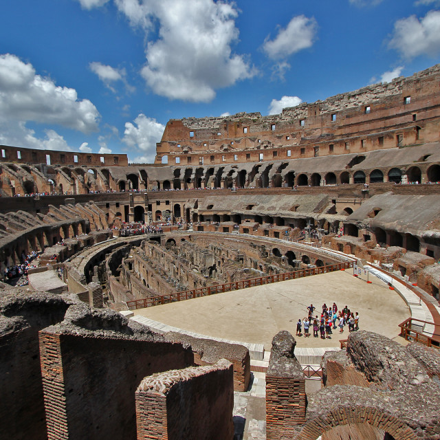 """""""The Colosseum, Rome"""" stock image"""