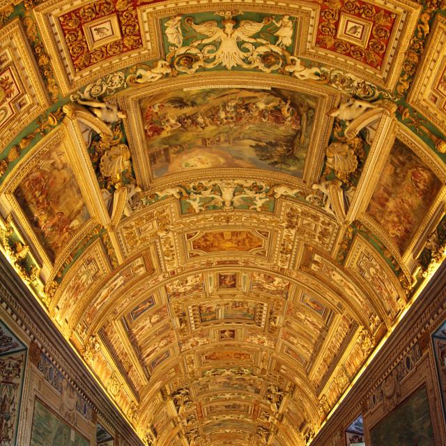 """Vatican City museum"" stock image"