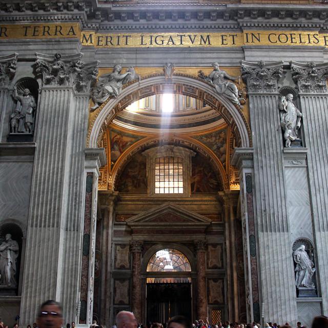 """Saint peters basilica, Vatican City"" stock image"