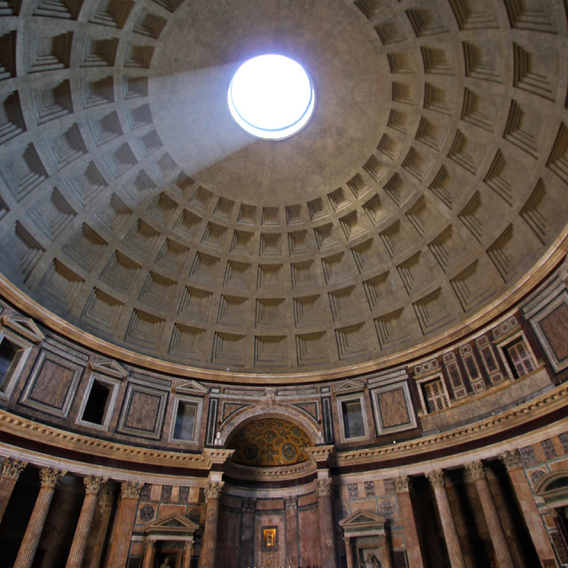 """The Pantheon, Rome"" stock image"