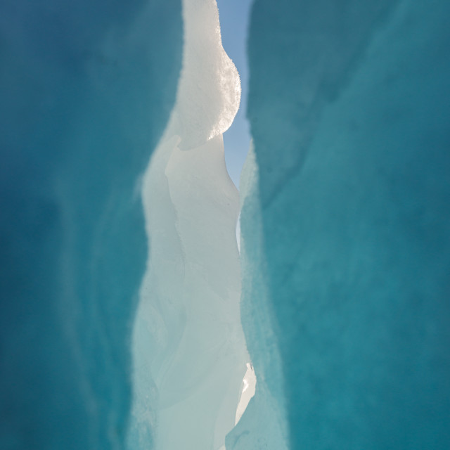 """""""Ice formations"""" stock image"""