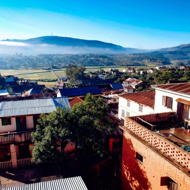 """Landscape at Ambositra"" stock image"