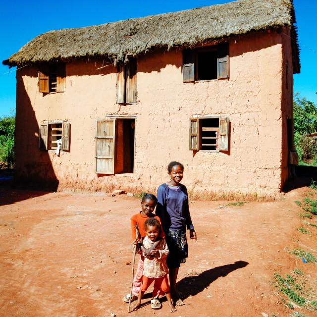 """Poor Families"" stock image"
