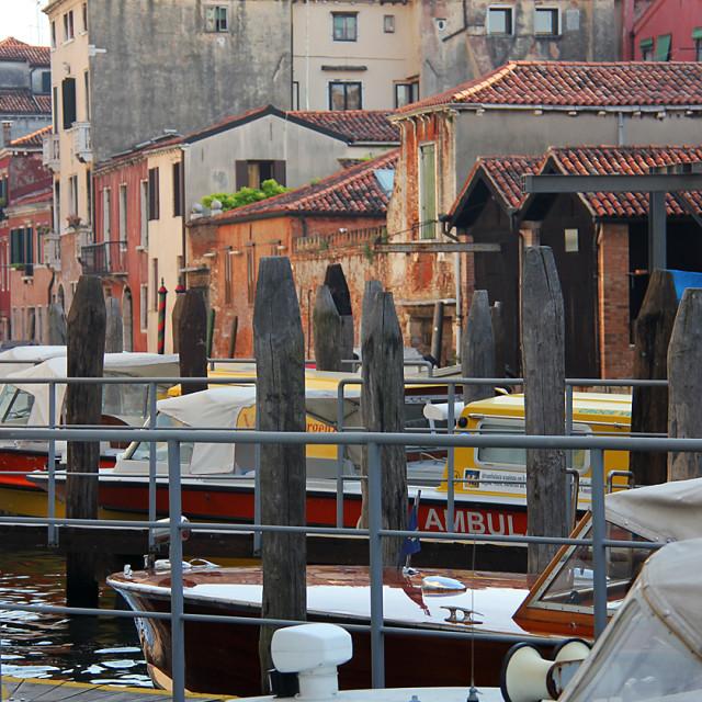 """""""Murano, Italy"""" stock image"""