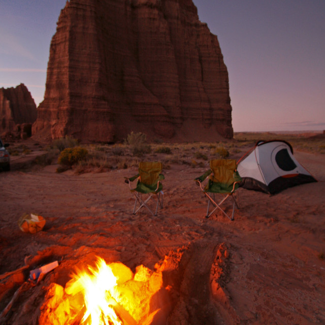 """""""Temple of the moon, capital reef national Park, Utah"""" stock image"""