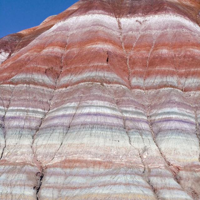 """""""Paria badlands, Paria Wilderness, Utah"""" stock image"""