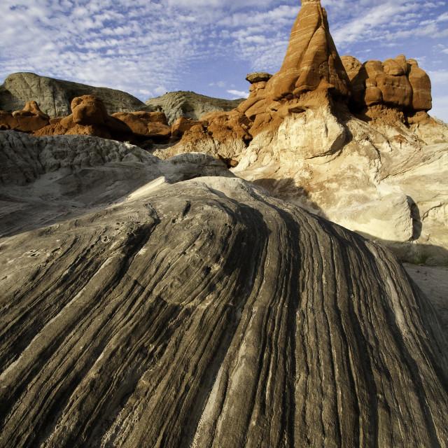 """""""Paria rim rock,Paria Wilderness, Utah"""" stock image"""