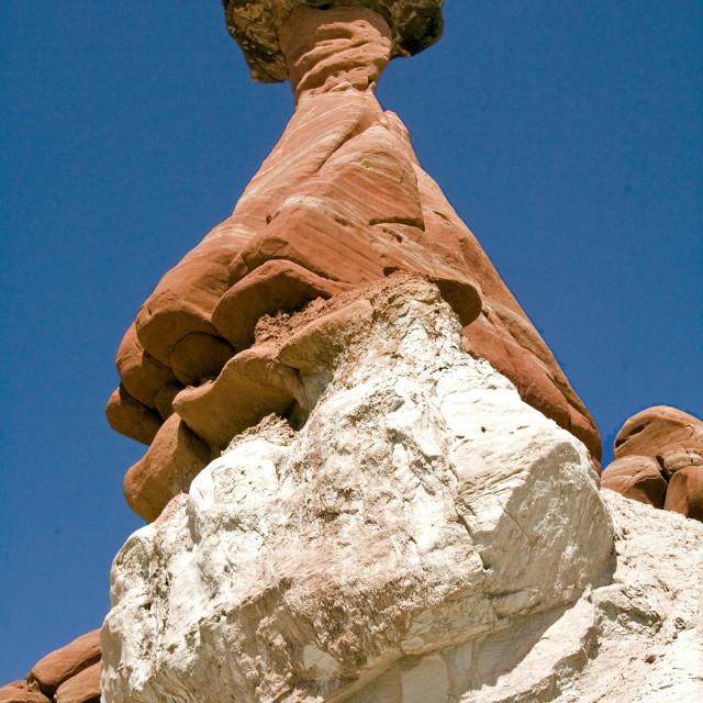 """""""Rimrock, Paris wilderness, Utah"""" stock image"""