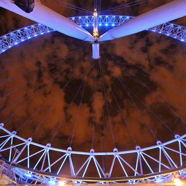 """The London eye, London England"" stock image"