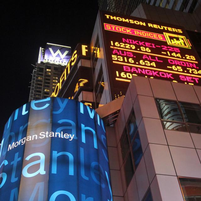 """Broadway, New York"" stock image"