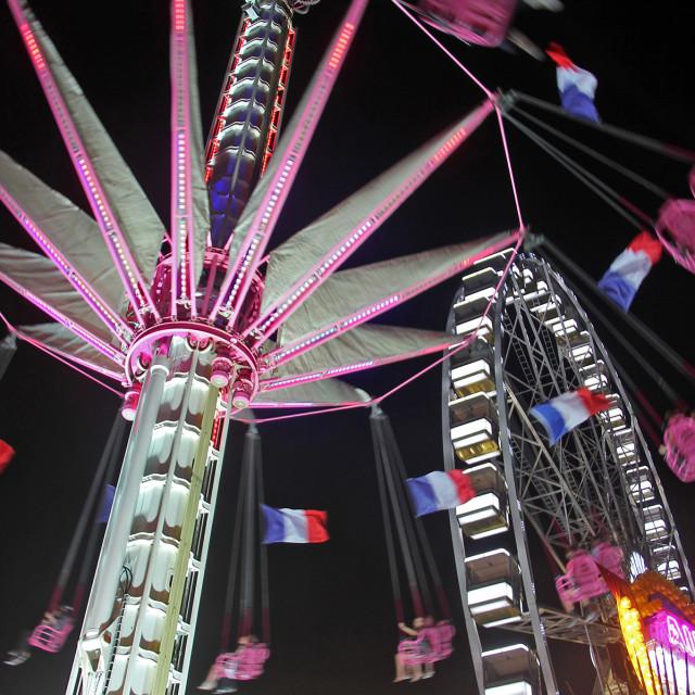 """""""Jardin d'Acclimatation Paris, France"""" stock image"""