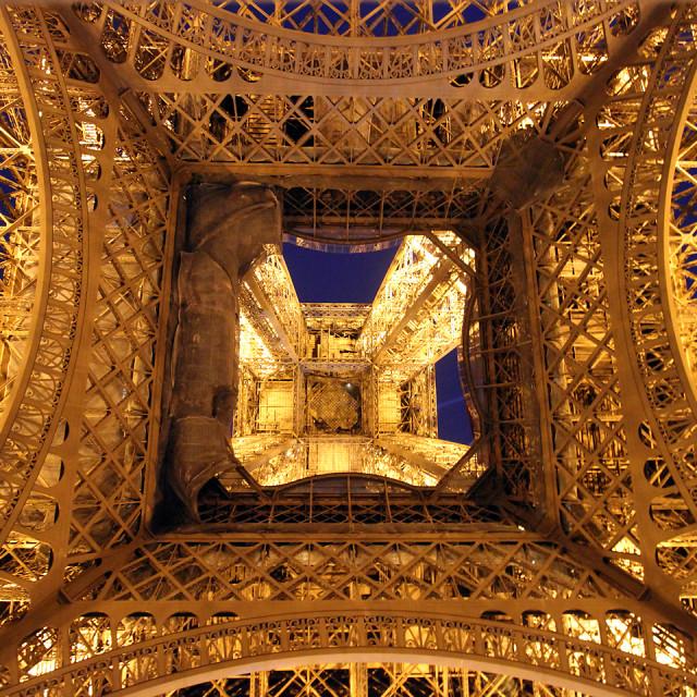 """Eiffel Tower, Paris, France"" stock image"